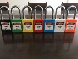 Stainless Steel Long Industrial safety Asian Padlock with Master key, Padlock Size: 40 mm