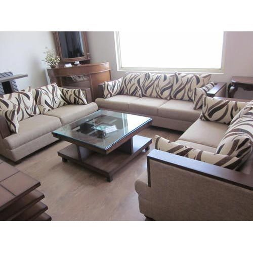 Modern sofa set at rs 12500 seat designer sofa - Corner tables for living room online india ...