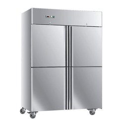 SS Four Door Commercial Refrigerator