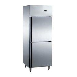 Stainless Steel Two Door Vertical Refrigerator