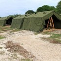 Temporary Army Tent