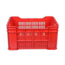 Square Perforated Crates