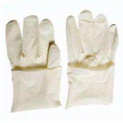 White Latex Examination Gloves