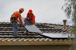 Solar Panel Rooftop Installation Service