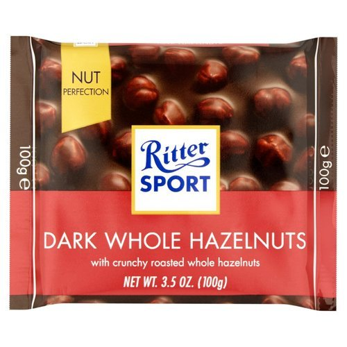 Ritter Sport Dark Chocolate With Whole Hazelnuts 100g At Rs 151 48 Pack Dark Chocolate Id 19105248012