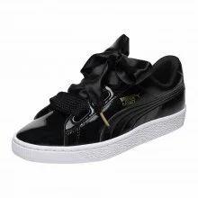 online retailer ed10b a43ee Basket Heart Patent Womens Sneakers