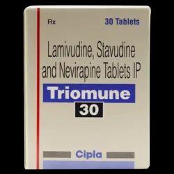 Triomune 30 Lamivudine, Stavudine and Nevirapine