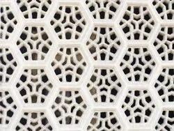 Hexagon Design Marble Jali