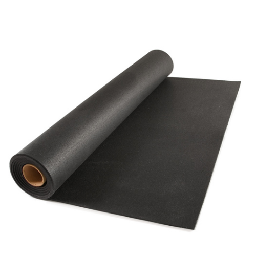 Black Rubber Mat Rolls 5mm Rs 90 Square Feet Gaurav