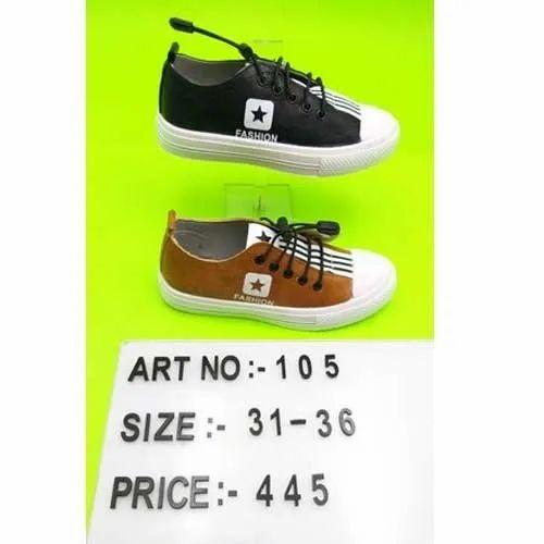 kids white canvas shoes