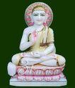 Gautam Swami Marble Statue