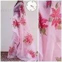 Fancy Organza Silk Ladies Indian Wear Saree