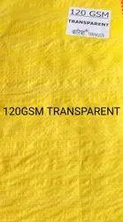 120 GSM Transparent Tarpaulins