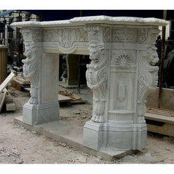 Marble Designer Fireplace