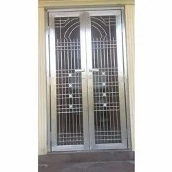 Polished Hinged Stainless Steel Door