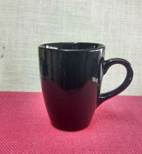 Black Ceramic Coffee Mug Size 300 Ml