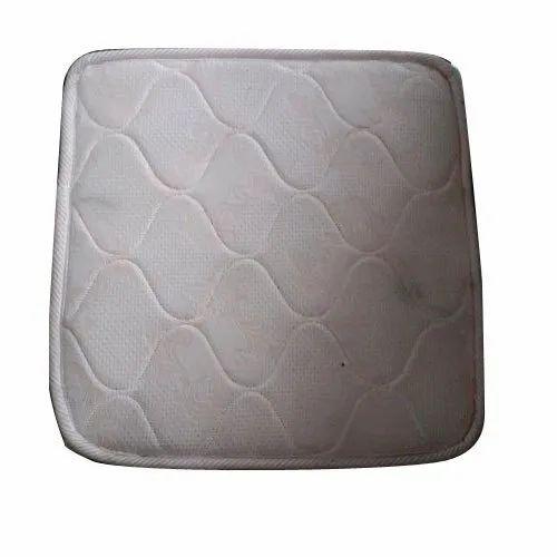 White Cotton Cover Material Pu Foam