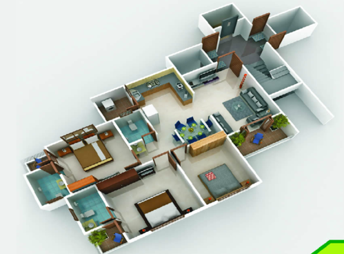 Pent House - Pent House Lower Plan Service Provider from Vadodara