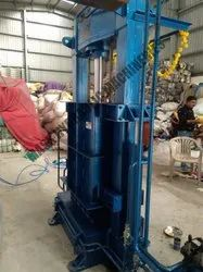 Used Clothes Baling Machine Lifting Box Type