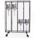 Metabolic Cage Trolley For Small Rodents