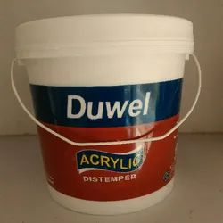 Shell White Solvent Dulux Acrylic Duwel Distemper, Packaging Type: Bucket