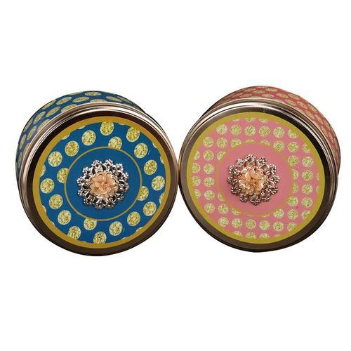Corporate Gifting Fancy Polka Tin Gift Boxes  sc 1 st  IndiaMART & Corporate Gifting Fancy Polka Tin Gift Boxes at Rs 195 /box | Tin ... Aboutintivar.Com