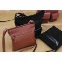 K Designs Leather Fancy Sling Bags