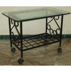 Rectangular Glass Center Tables