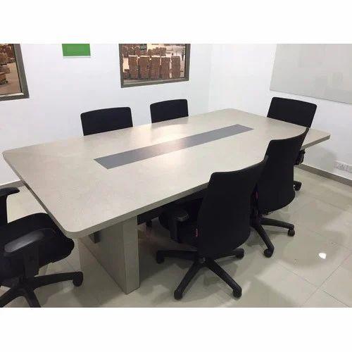 Rectangular Meeting Table 8 Seater