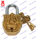 Lock W/Keys Ganesh Design