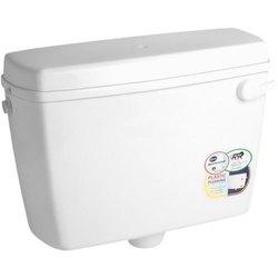 Seastar White Shelfy Plastic Flushing Cistern for Toilet, Model Name/Number: 104