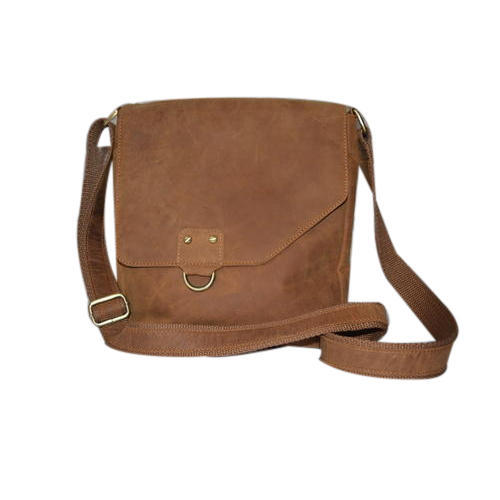 Leather Brown Side Bag