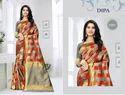 Dipa Jacquard Silk Saree With Rich Pallu