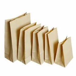 Square Bottom Paper Bag Without Handles