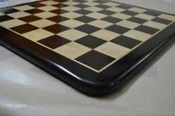 Lacquered Ebony Chess Board