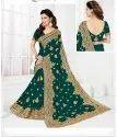 Heavy Designer Party Wear Saree
