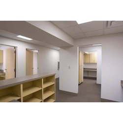 Gypsum Partition Work, For Office