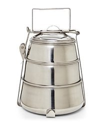 Rust Proof  Pyramid Tiffin Box