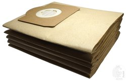 RODAK Paper Dust Bags compatible with Karcher WD3, WD3 P, MV3 & WD 3.200, Made Of Double Ply Filter,