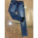 Mens Denim Low Waist Slim Fit Jeans