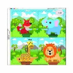 Printed EVA Animals Mat