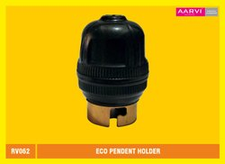 AARVI PVC Eco Pendent Holder, Base Type: B22, Model Name/Number: Rv062
