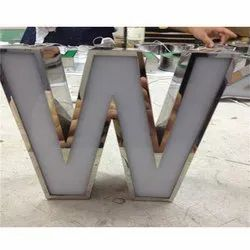 Advertising Stainless Steel Letters
