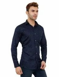 Party Wear Blue Color Shirt