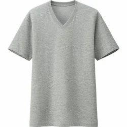 Men's V Neck T- Shirt