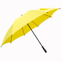 Yellow Single Fold Umbrella