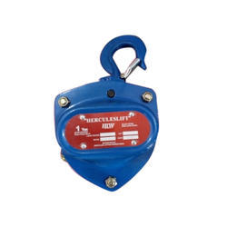 Chain Pulley Block, Capacity: 1 Ton