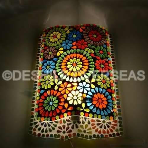 Deshilp Overseas Glass Wall Lamp