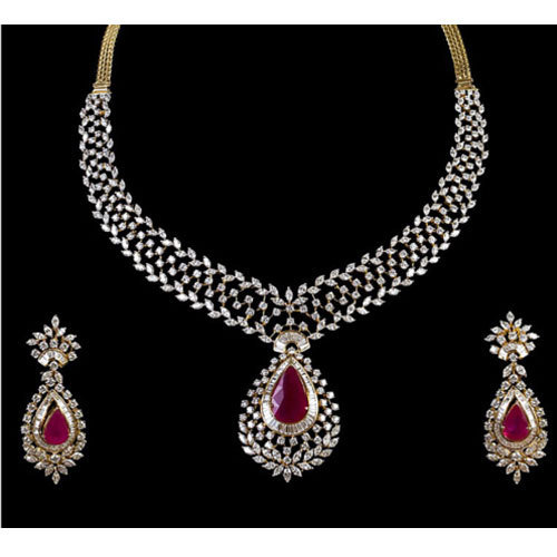double v french portfolio diamond set