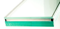 51-100 Square Feet And 10-50 Square Feet Transparent Laminated Toughened Glass